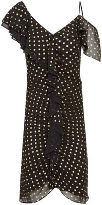 Sam Edelman Foil Dot Print Dress