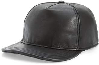 Goorin Bros. Brothers Corner Pocket Leather Baseball Cap