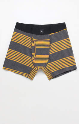 Richer Poorer Thurston Stripe Charcoal Cotton Boxers
