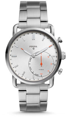 Fossil Hybrid Smartwatch - Q Commuter Stainless Steel