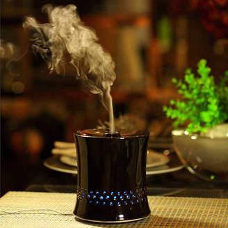 Asstd National Brand SPT SA-055B: Ultrasonic Aroma Diffuser/Humidifier with Ceramic Housing - Black