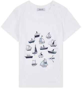 Absorba Boat Print T-Shirt