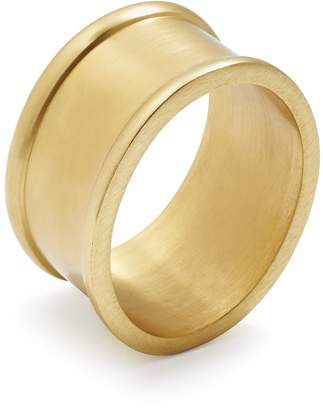 Sur La Table Oval Gold Napkin Ring