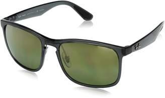 c3f10c20b80 at Amazon Canada · Ray-Ban Men s Injected Man Polarized Square Sunglasses