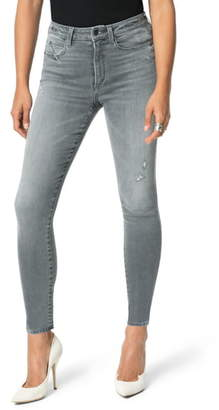 Joe's Jeans Flawless - The Hi Honey High Waist Destroyed Hem Ankle Skinny Jeans
