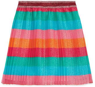 Gucci Children's lurex pleated skirt