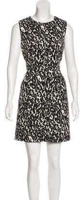 Milly Jacquard Mini Dress