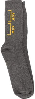 A-Cold-Wall* graphic socks