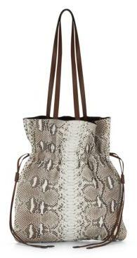 MICHAEL Michael KorsSnake Drawstring Bag