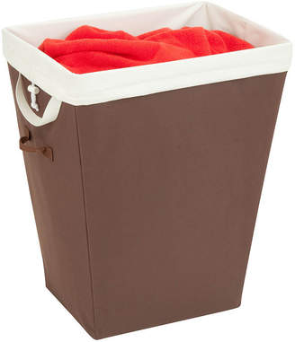 Honey-Can-Do Brown Hamper with Removable Liner
