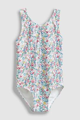 Next Girls Floral Swimsuit (3mths-7yrs)