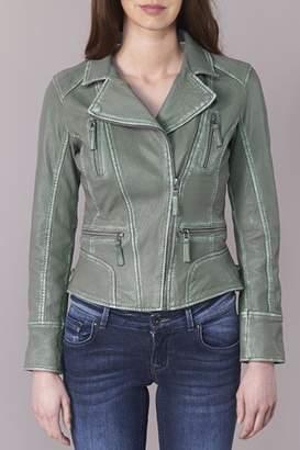 Oakwood Olive Leather Jacket