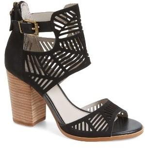 Women's Hinge Drew Laser Cutout Sandal $89.95 thestylecure.com
