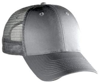 d8dfcef9 Otto Caps OTTO Cotton Blend Twill 6 Panel Low Profile Mesh Back Trucker Hat