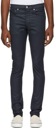 Rag & Bone Blue Coated Fit 1 Jeans