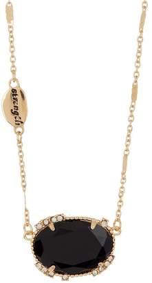 14th & Union Stone Pendant Short Necklace