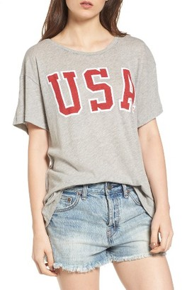 Women's Wildfox Usa Tee $72 thestylecure.com