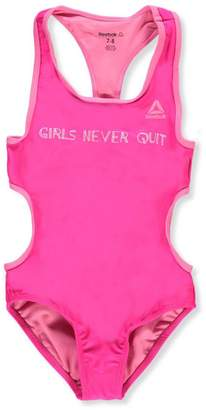 Reebok Big Girls' 1-Piece Swimsuit