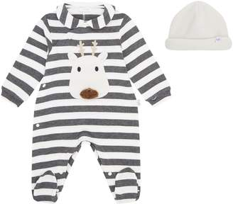 Il Gufo Reindeer All-In-One and Hat Set