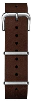 Oxygen Unisex Brown Leather Buckle Pin of 20cm EX-NL-STR-20-DB