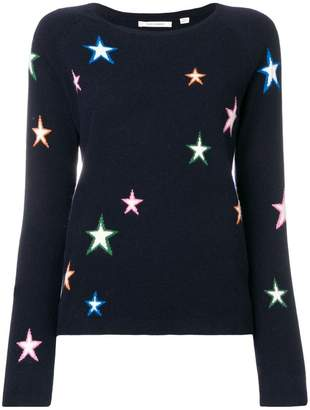 Parker Chinti & 3D star sweater