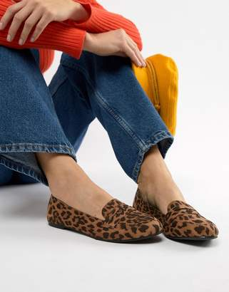 New Look Leopard Loafer