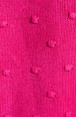 Lucky Brand Bobble Stitch Crewneck Cotton Blend Sweater