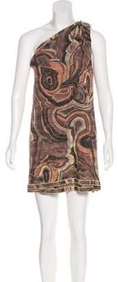 Missoni One-Shoulder Mini Dress