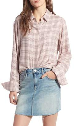 Treasure & Bond Glen Plaid Shirt