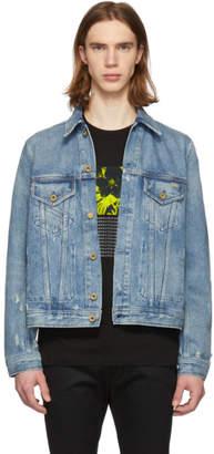 Diesel Blue Denim Bray Jacket