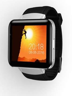 SunshineLLC DM98 Bluetooth Smart Watch 2.2 inch Android OS 3G Smartwatch Phone MTK6572 Dual Core 1.2GHz 512MB RAM 4GB ROM Camera WCDMA GPS - Black