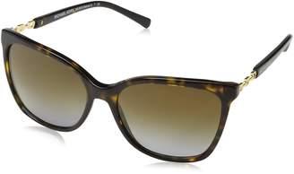 Michael Kors 6029 MK6029 Sunglasses -56 - Dk Tortoise/gold Frame, Brown Gradient