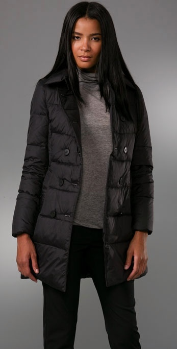 Theory Lynelle Peacoat Puffer