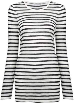 Alexander Wang striped slub jersey