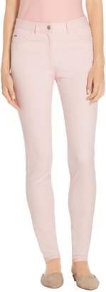 St. John Stretch Double Dye Denim 5 Pocket Bardot Jean