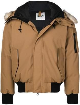 Kenzo zipped padded jacket