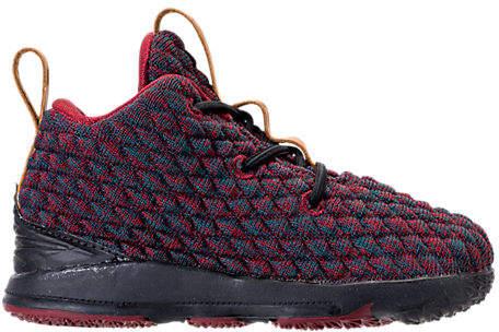 Kids' Toddler LeBron 15 Basketball Shoes, Blue