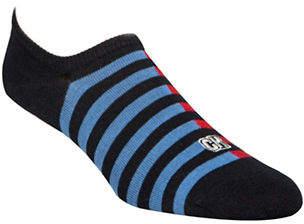 Calvin Klein Striped No-Show Socks