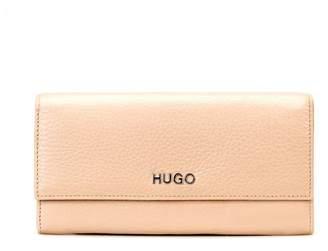 HUGO BOSS Hugo Mayfair Continental Tan Purse