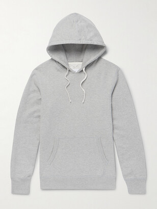 Reigning Champ Loopback Cotton-Jersey Pullover Hoodie - Men - Gray