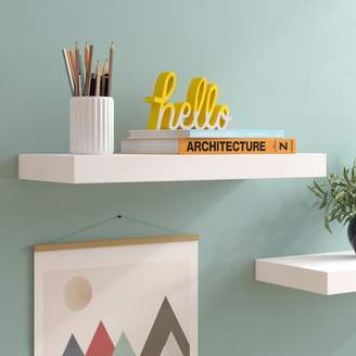 Isabella Collection Zipcode Design Floating Shelf