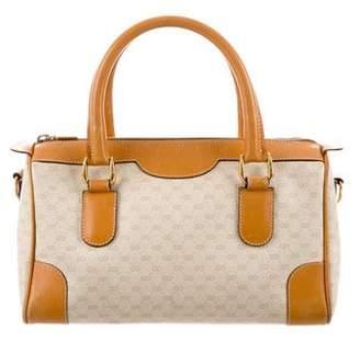 Gucci Vintage Micro GG Plus Boston Bag