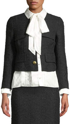 Vetements Tailored Tweed Jacket w/Blouse