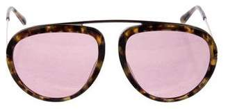 Tom Ford Stacey Aviator Sunglasses