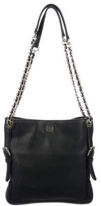 Tory Burch Pebbled Leather Crossbody Bag