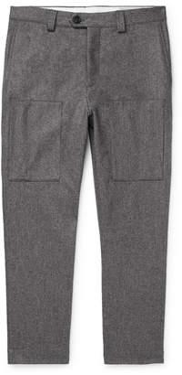 Brunello Cucinelli Wool-Flannel Trousers