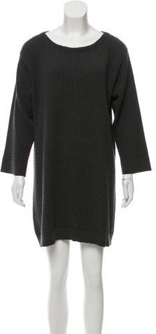 Marc JacobsMarc Jacobs Cable Knit Sweater Dress