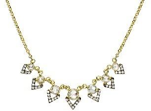Jemma Wynne Rosecut Diamond Necklace - Featured in W Magazine