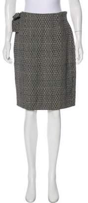 Gianni Versace Vintage Plaid Knee-Length Skirt