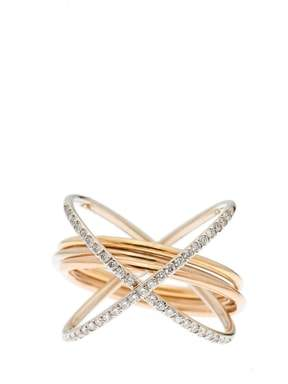Charlotte Chesnais XXO Diamond Ring